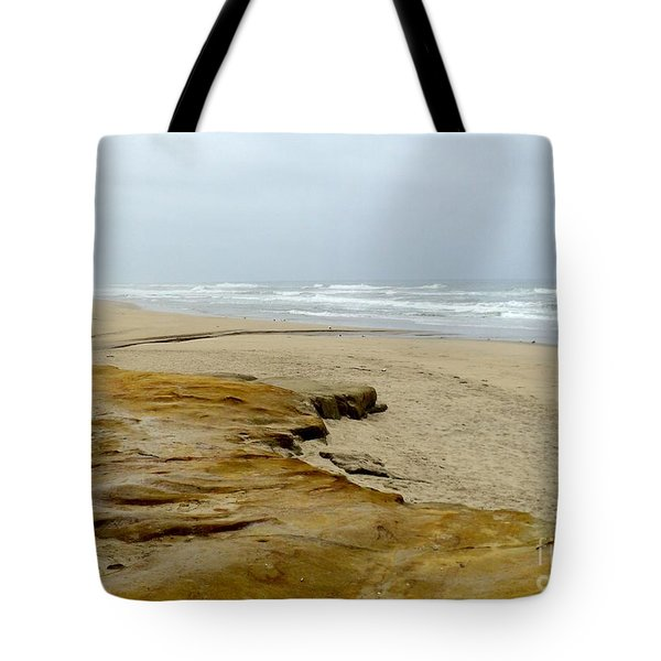 Tote Bag featuring the photograph Sandy Beach by Carla Carson