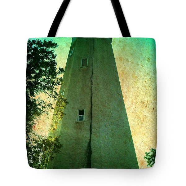 Sandy Hook Lighthouse Tote Bag