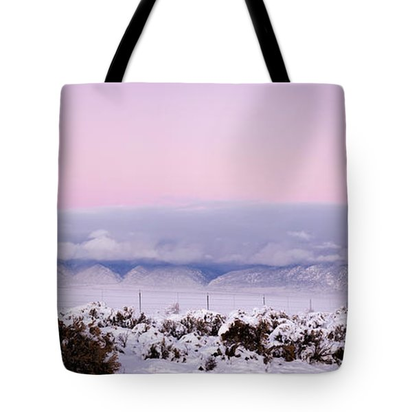 Sangre De Cristo Range With Clouds Tote Bag