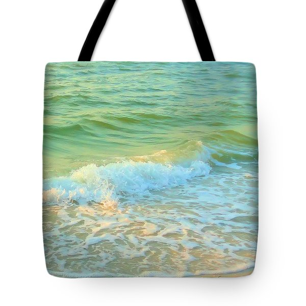 Tote Bag featuring the photograph Sanibel At Sunset by Janette Boyd