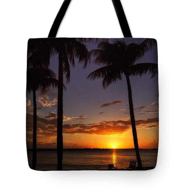 Sanibel Island Sunset Tote Bag