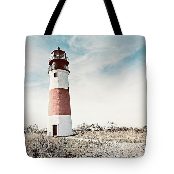 Sankaty Head Lighthouse Nantucket  Tote Bag