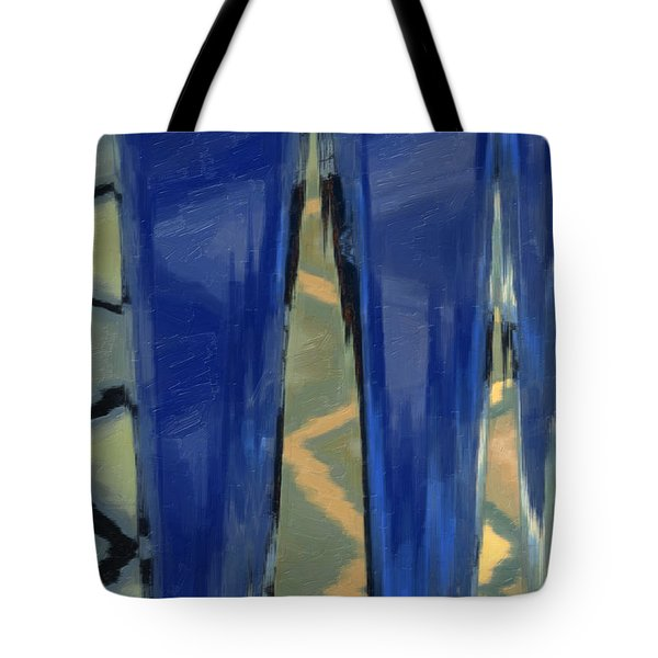 Tote Bag featuring the painting Sans Titre 789 by Gerlinde Keating - Galleria GK Keating Associates Inc
