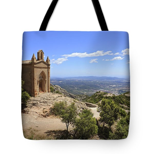 Sant Joan Chapel Spain Tote Bag