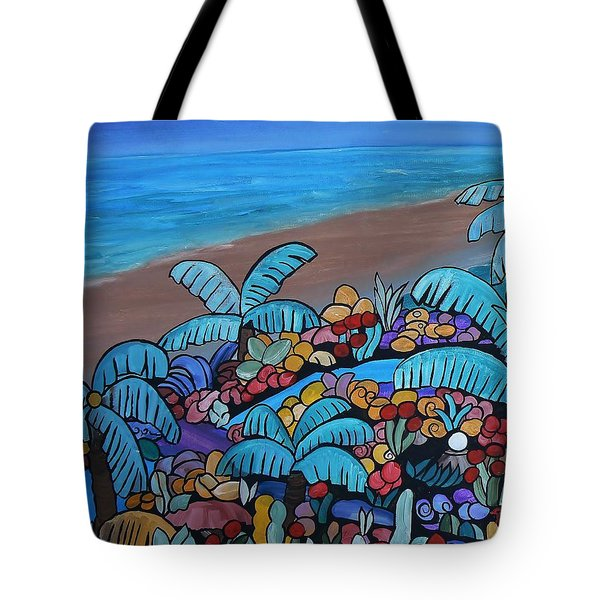 Santa Barbara Beach Tote Bag