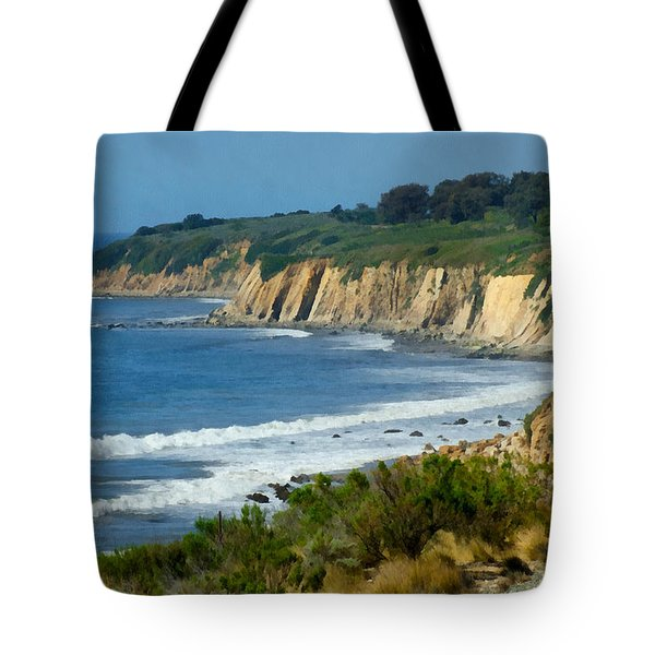 Santa Barbara Coast Tote Bag