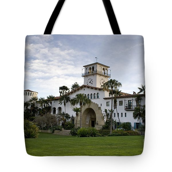 Tote Bag featuring the photograph Santa Barbara by David Millenheft