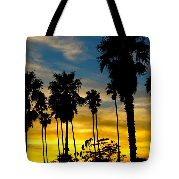 Santa Barbara Sunset Tote Bag