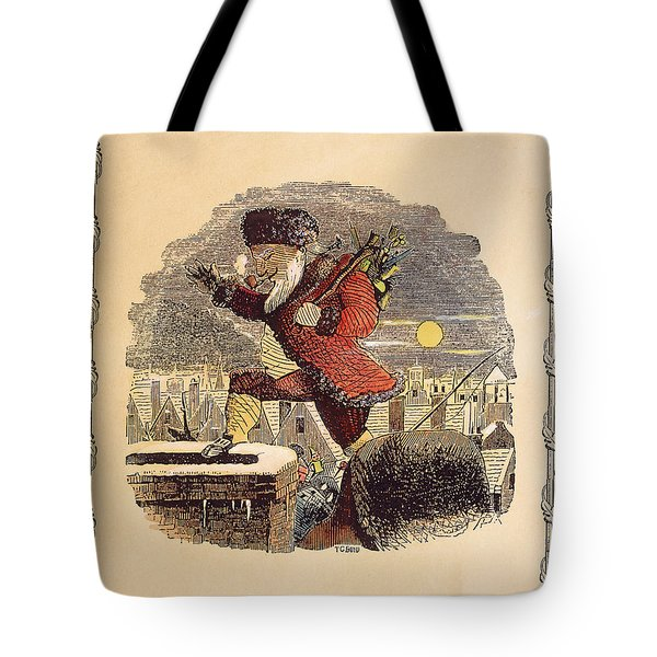 Santa Claus, 1848 Tote Bag by Granger