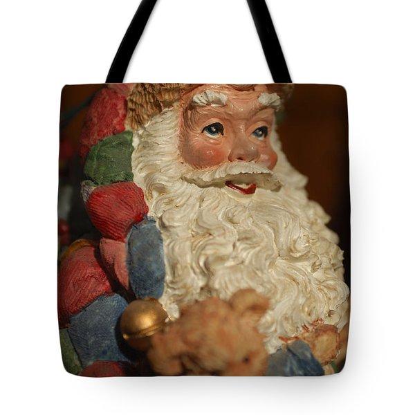 Santa Claus - Antique Ornament - 09 Tote Bag by Jill Reger