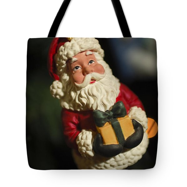 Santa Claus - Antique Ornament - 31 Tote Bag by Jill Reger