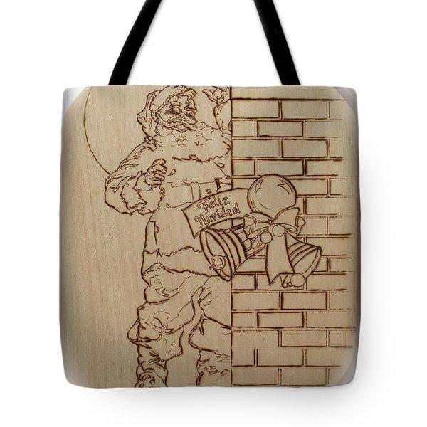 Santa Claus - Feliz Navidad Tote Bag