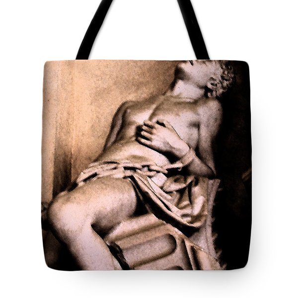 Santa Croche Sculpture Tote Bag