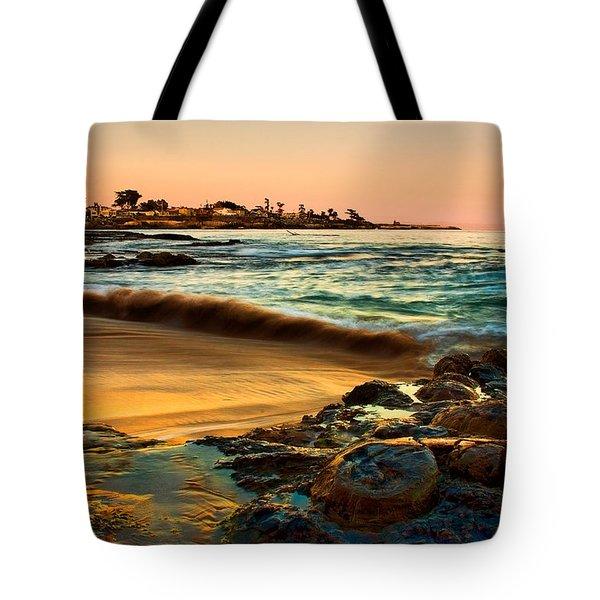 Santa Cruz Sunset Tote Bag