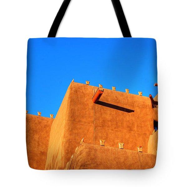 Santa Fe Adobe Tote Bag