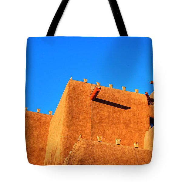Santa Fe Adobe Tote Bag