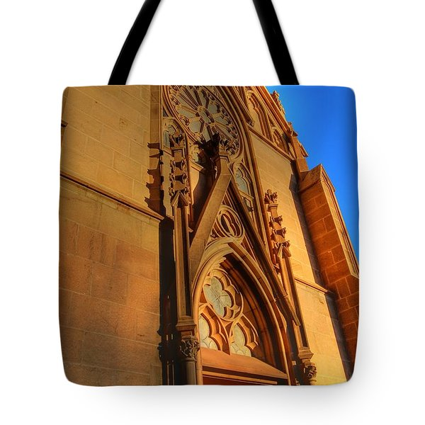Santa Fe Church Tote Bag