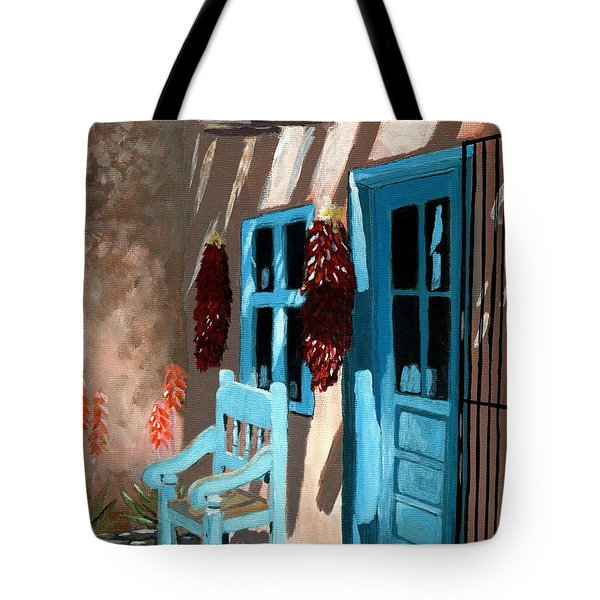 Santa Fe Courtyard Tote Bag