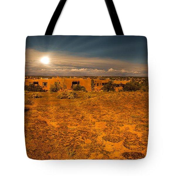 Santa Fe Landscape Tote Bag