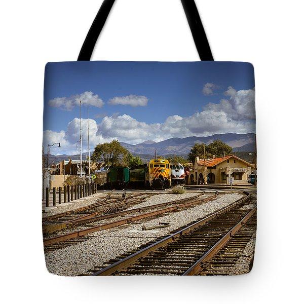 Santa Fe Rail Road Tote Bag