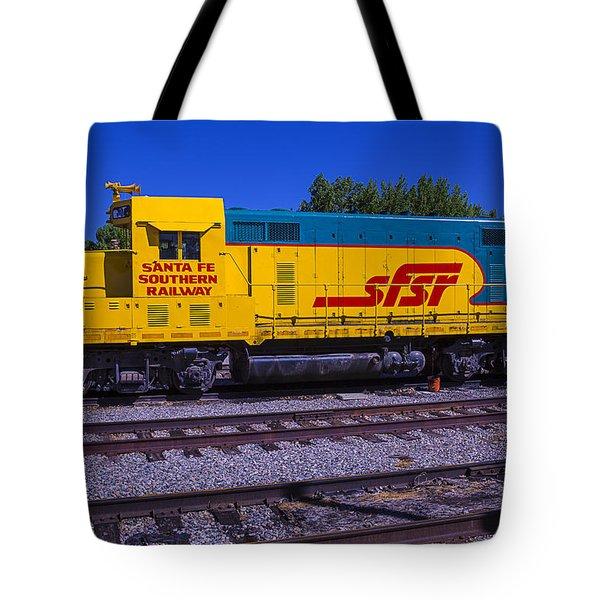 Santa Fe Southern Railway Engine Tote Bag