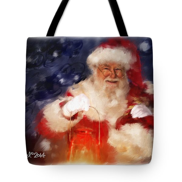 Santa Is Comin' To Town Tote Bag
