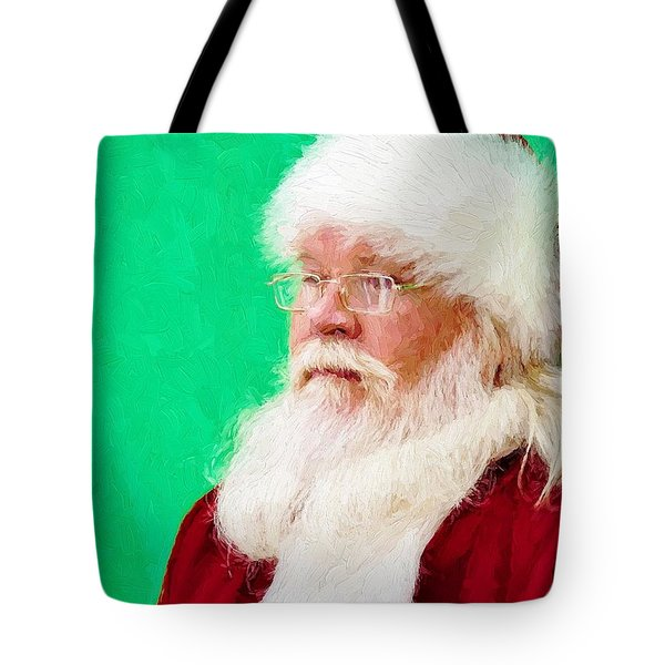 Tote Bag featuring the photograph Santa by Ludwig Keck