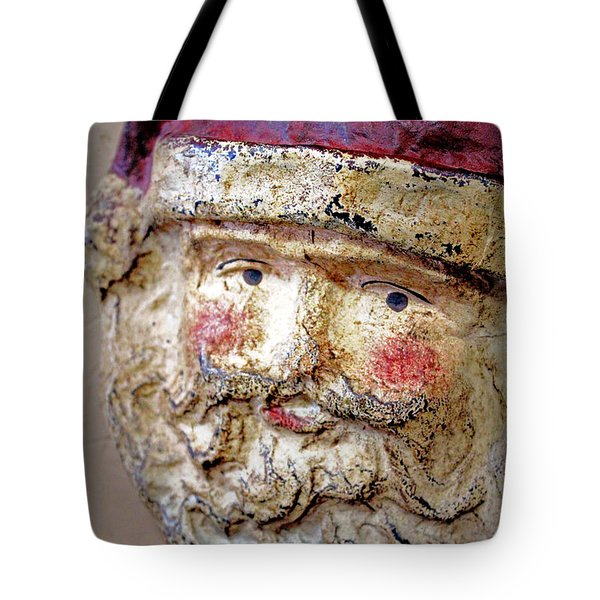 Tote Bag featuring the photograph Santa by Lynn Sprowl