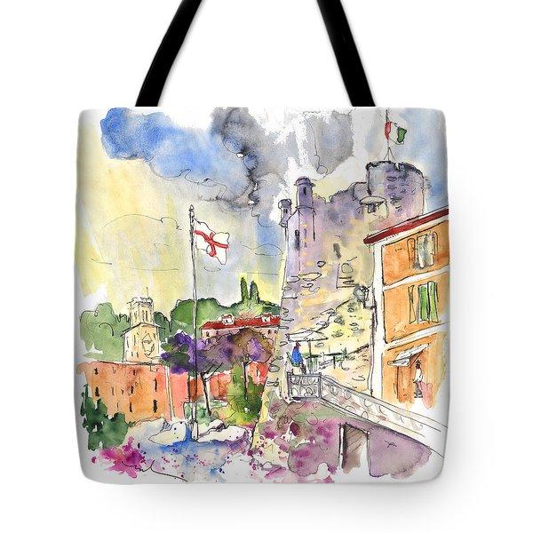Santa Margherita In Italy 07 Tote Bag by Miki De Goodaboom