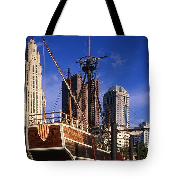 Santa Maria Replica Photo Tote Bag