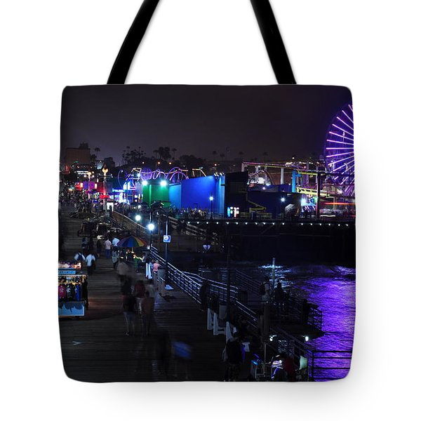 Santa Monica Pier 5 Tote Bag