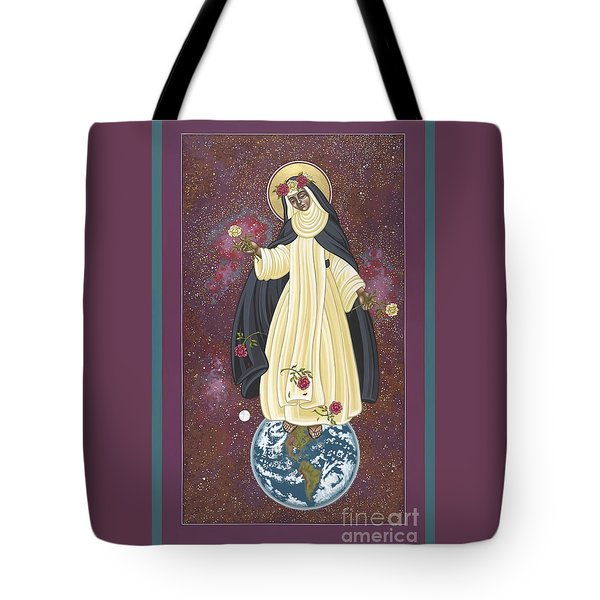 Santa Rosa Patroness Of The Americas 166 Tote Bag by William Hart McNichols