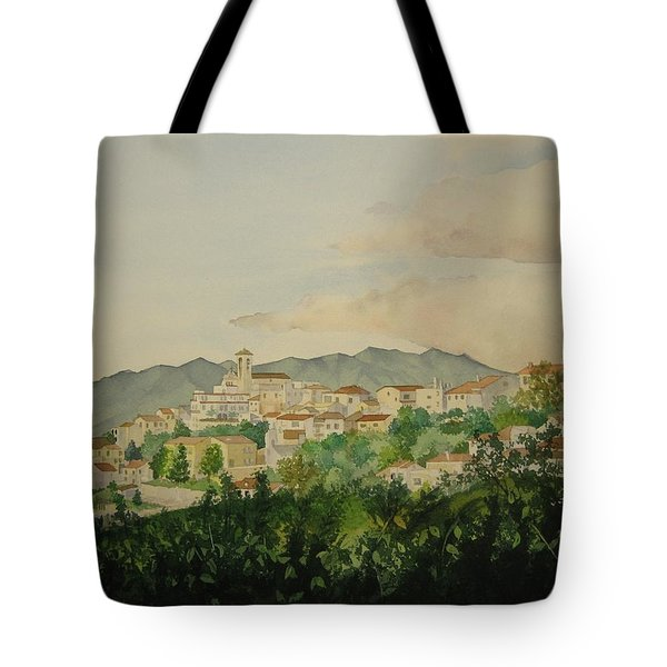 Sant'ambrogio Tote Bag by Jeff Lucas