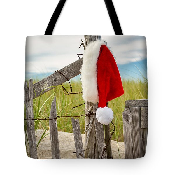 Santa's Downtime Tote Bag