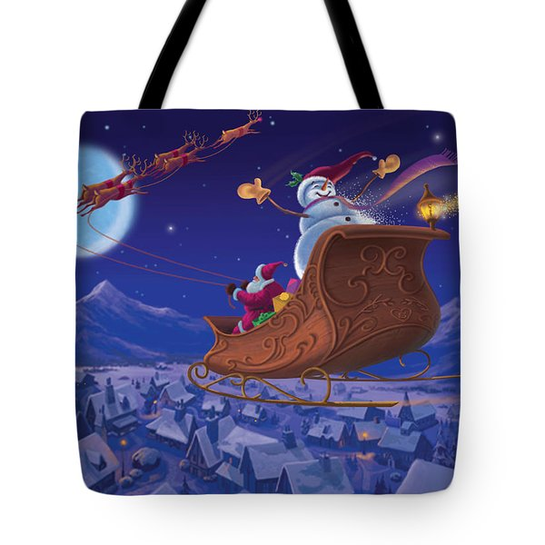 Santa's Helper Tote Bag