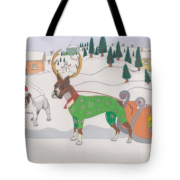 Santas Helpers Tote Bag