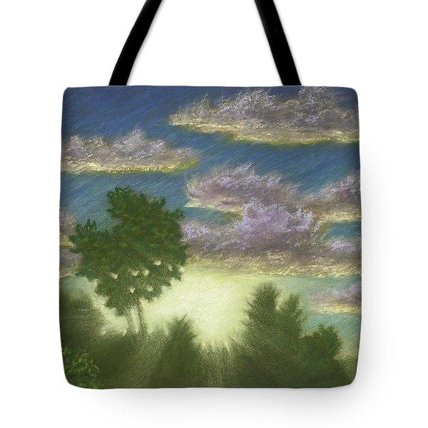 Santee Sunset 01 Tote Bag