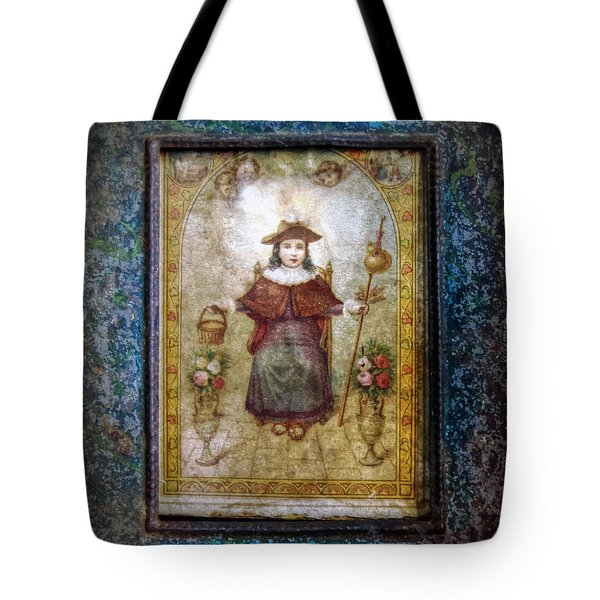 Santo Nino De Atocha Tote Bag by Savannah Gibbs