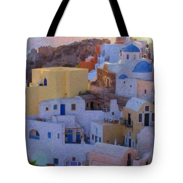 Santorini Grk6424 Tote Bag