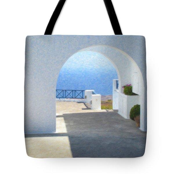 Santorini Grk8681 Tote Bag