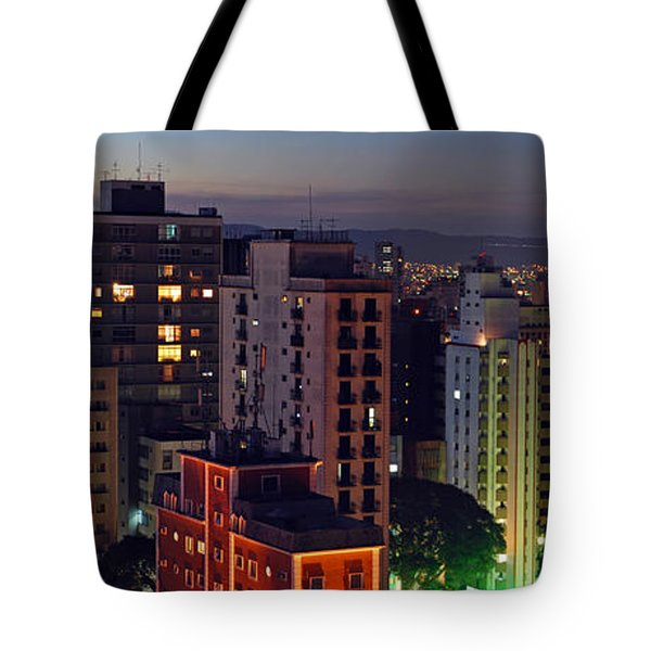 Sao Paulo Downtown At Dusk Tote Bag