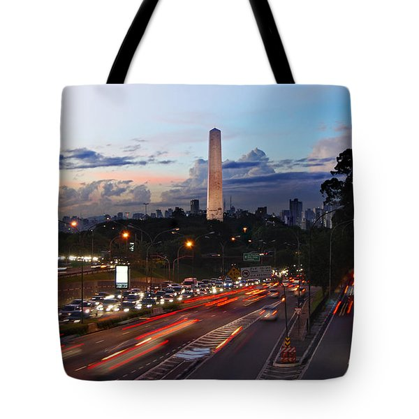 Sao Paulo Skyline - Ibirapuera Tote Bag