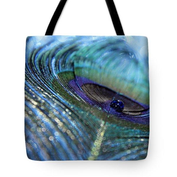 Saphire Blues Tote Bag