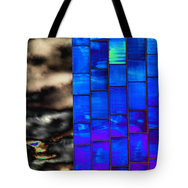 Tote Bag featuring the photograph Sapphire Sunset by Christiane Hellner-OBrien