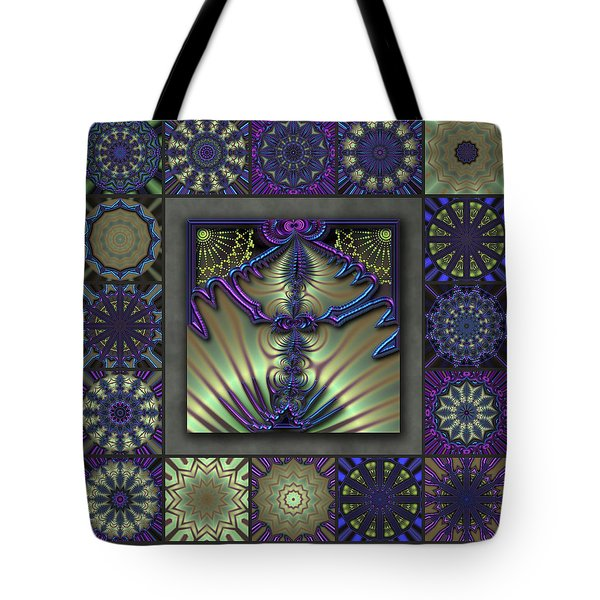 Sapphire Wind Redux  Tote Bag