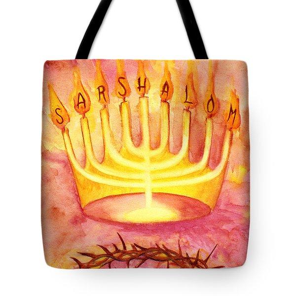 Sar Shalom Tote Bag