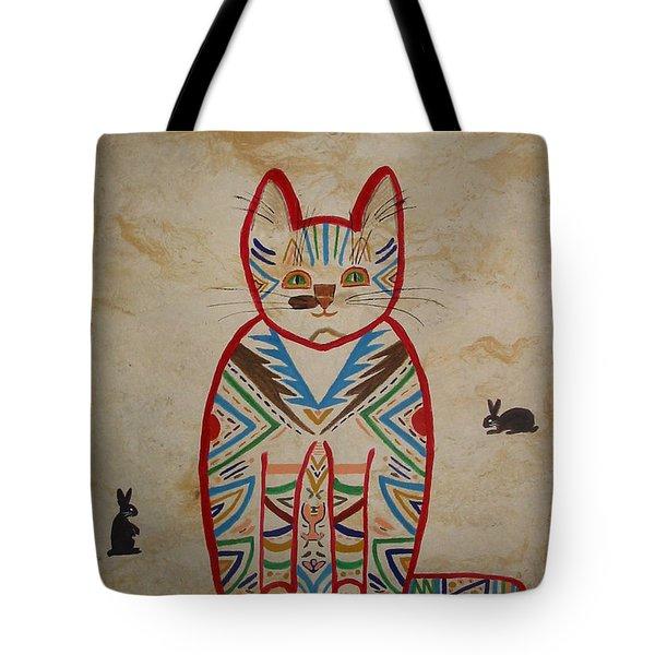 Sarah's Cat Tote Bag