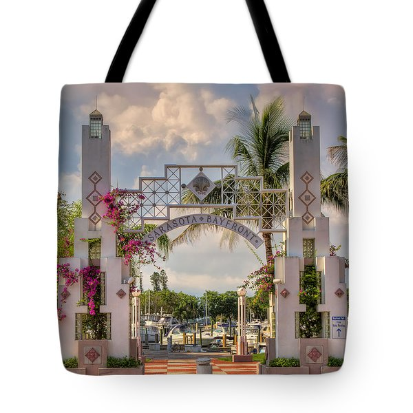 Sarasota Bayside Tote Bag