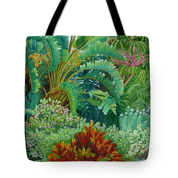 Sarasota Garden Tote Bag by Beverly Theriault