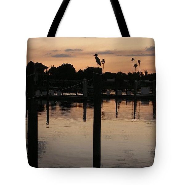 Sarasota Sunset Tote Bag by Emmy Marie Vickers